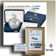 2020-s American Eagle One Ounce Silver Proof Coin 2 Sets In One Box Spring9