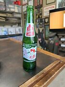 Vntg 1965 Green Glass Acl Bottle Hillbilly Brew Mountain Dew Knock Off Moonshine