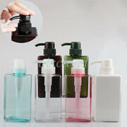 15 Oz Empty Petg 450ml Lotion Pump Bottles Cream Soap Gel Cosmetic Containers