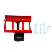 Steel Lumber Cutting Guide Saw Mill Wood Timber Chainsaw Attachment +wrench Tool