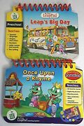 Leapfrog Leap Pad Preschool Book Insert Spanish Reading Once Upon Rhyme Lot Of 2