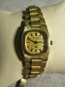 Bulova Ladies Accutron 14k Solid Gold Band And Case 2301 A 13 Jewel Movand039t