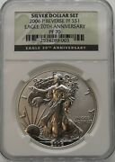 2006 American Silver Eagle Reverse Proof Proof 70