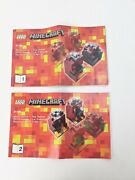 Lego Minecraft 21106 The Nether Instructions Only