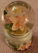 Polystone Butterfly Snow Globe 4 Inches