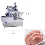 110v 12 Commercial 370 W Electric Automatic Meat Slicer Frozen Meat Slicer New