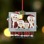 Diy Personalized Christmas 2020 Blank Hanging Family Photo Frame Ornaments Good