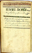 1791 Russell Dorr Physician Chatham New York Medical Book Treatise On Ulcers