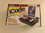 Ion Icade Core Portable Arcade Gaming Platform For All Ipad. Wireless Bluetooth