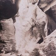 Stupendous Rock Formation Box Canon Ouray Colorado International Co Stereoview
