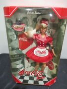 1998 Barbie Coca Cola . 1st In The Series. Waitress Barbie Doll.