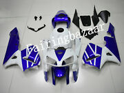 Fit For 2005 2006 Cbr600rr Pearl White Blue Abs Plastic Injection Fairing Kit