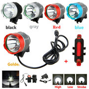 Super Bright 8000 Lumen T6 Led Torch Headlight Headlamp Bicycle Bike Head Light