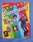 Panini Supersport 1987 Excellent Complete With Mike Tyson Rookie