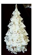 New Sealed Lenox China Jewels 'twas The Night Musical Christmas Tree Retired