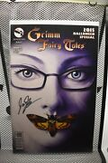 Grimm Fairy Tales 2015 Halloween Special Movie Variant Zenescope Signed 9.4