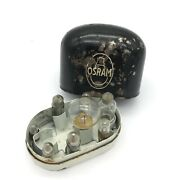 Vintage Osram Auto Bulb Case Holder Classic Car Spare Motor Lamp Box Old Ford Vw