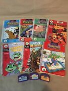 Leap Frog Leap Pad Loose Book And Cartridge Lot Phonics Math Science Incredibles