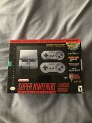 Super Nintendo Entertainment System Snes Classic Edition Mini From Toys R' Us 🔥