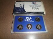 Us Coins State Quarters 1999 S Proof Set