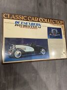 Sealed In Box Bandai 1/16 Classic Car Collection Duesenberg 1933 Boat Tail Sj