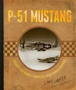 Brand New Hardcover P-51 Mustang Priority And International Shipping Available