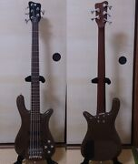 Used 2009 Warwick Streamer Lx5 Electric Bass From Germany Rare