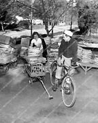 Crp-40795 Wwii War Effort Scrap Paper Drive Kids W Wagon And Bicycle Haul Of A L