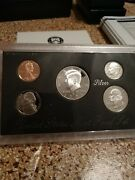 1996 United States Mint Annual 5 Coin Silver Proof Set With Box And Coa