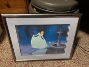 Cinderella Reflection Disney Limited Edition Cel 64/500 Brand New Condition