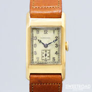 Longines Vintage Cal.25.17 18kyg Small Second Used Manual Winding Mens Watch