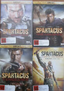 Dvd Spartacus - Season 1-3 And Gods Of The Arena ...new...