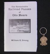 Rainbow Route Keychain With Book The Remarkable Railroad Passes Of Otto Mears