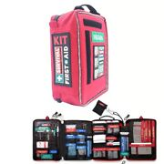 Aid First Kit Waterproof Bag Outdoor Emergency Medical Travel Survival Camping