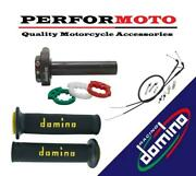 Domino Xm2 Quick Action Throttle Kits With A010 Grips To Fit Bajaj Bikes