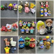 Mixed Lots Of Fisher Price Little People Farm Barn Animals Princess Toys