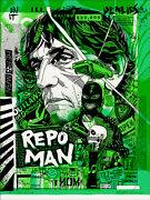 Repo Man Poster - Variant - Mondo - Tyler Stout - Ap - Limited Edition Of 8
