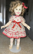 Shirley Temple 16 Ideal Stand Up And Cheer 1984 Cbs Collectors Doll