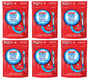 Colgate Max Fresh Wisp Disposable Mini Toothbrush Peppermint 24 Count 6 Pack
