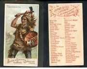 1887 N3 Allen And Ginter Arms Of All Nation Native Indian  Tomahawk  -2540