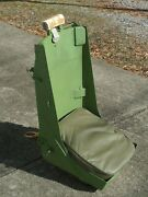 Military Aircraft Ami Type A-9 Usaf Mil-s-5822 Pilotand039s Seat With Seat Cushion Vg