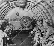 Crp-153 1942 News Photo Army Jeep And Crew In Side World's Largest Twin Egine Ai