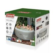 Coleman 71 X 26in 2-4ppl Tahiti Airjet Hot Tub Spa - Grey In Hand Fast Ship🔥