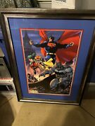 Jim Lee Signed Palm Springs Comic Con Limited Edition Poster