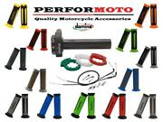 Domino Xm2 Quick Action Throttle Kit With A350 Grips To Fit Dakota Indian Bikes