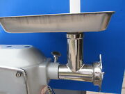 Stainless Steel Meat Grinder For Hobart Univex Mixer Motors. Size 12 A200
