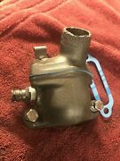 Oem Vtg 1954-62 Chevy 235 Water Neck Thermostat Housing Set Inline 6 Cyl Gm Six