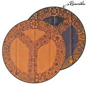 Outdoor Rug | Peace And Happiness Design, 3.6m Round