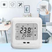 Lcd Digital Heating Thermostat Control Room Floor Electric Thermostats 220v