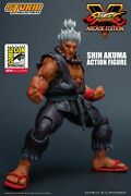 112 Storm Toys Street Fighter V Akuma Shin Sdcc Comic Action Figure Toy Gift